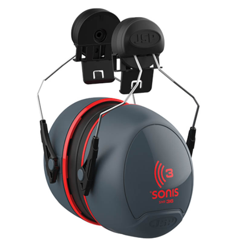 Helmet Mounted Ear defenders