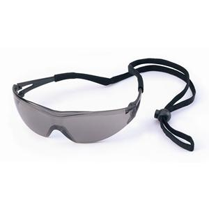 X-One Ultra Dry Grey Black Safety Glasses with Neck Cord