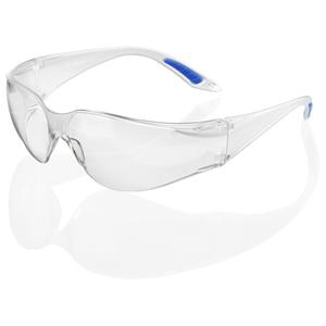 Axxion Clear Lens Wrap Around Safety Glasses