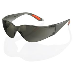 Axxion Grey Tint Lens Wrap Around Safety Glasses