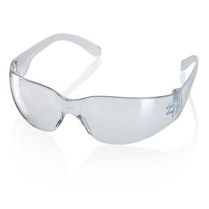 CLEAR Ultra-Light Ancona Wrap Around Safety Spectacles