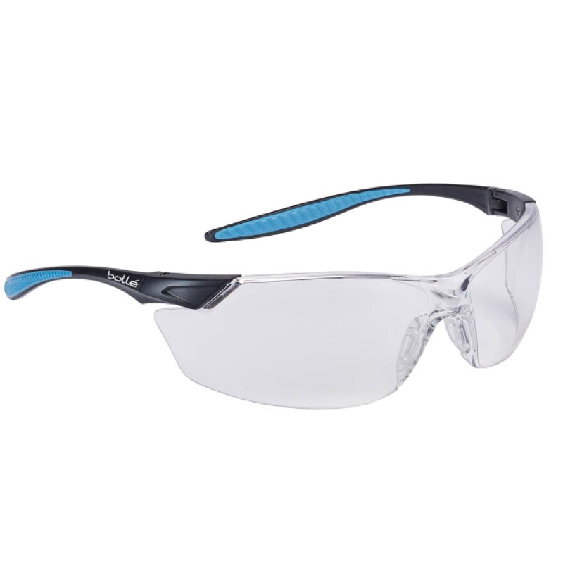 Clear Bolle MAMBA Safety Glasses - MAMPSI c/w neck cord