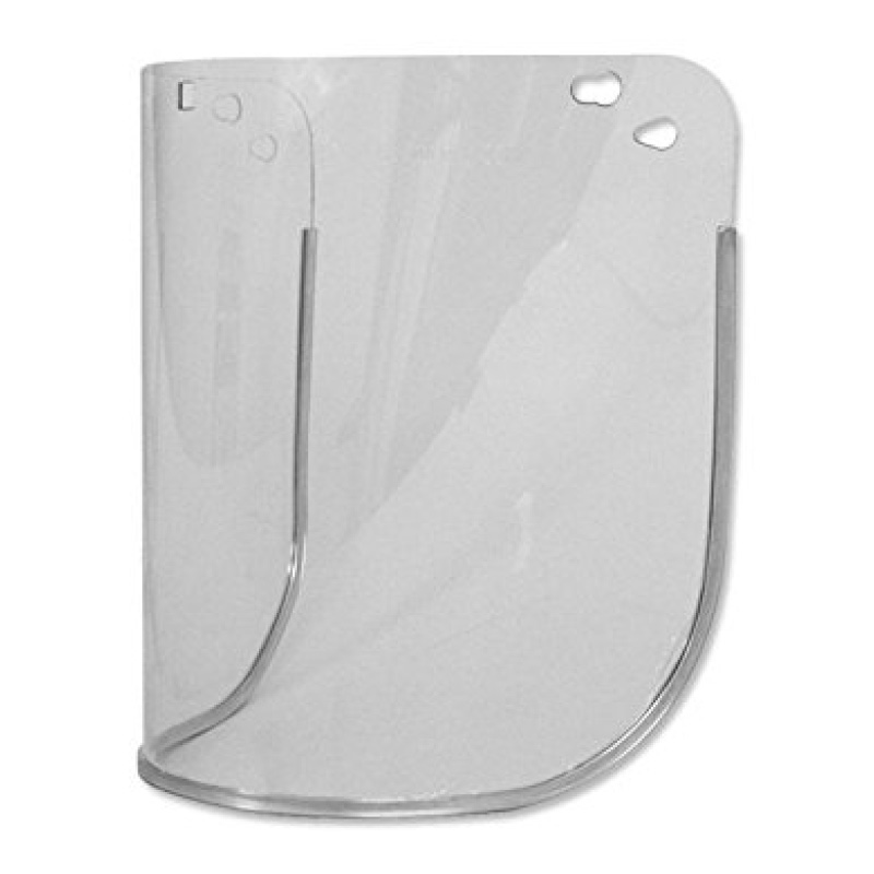 200mm CV8A Clear Acetate Visor