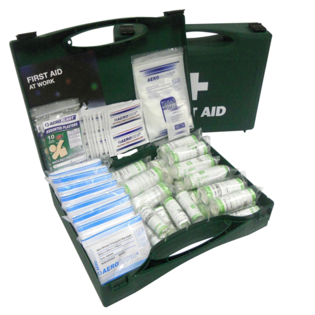 First aid kits supplies ppe first aid safety workwear 10 person hse first aid kit publicscrutiny Choice Image