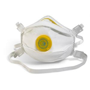 FFP3V Valved Moulded Dust Mask (Box of 5 masks)