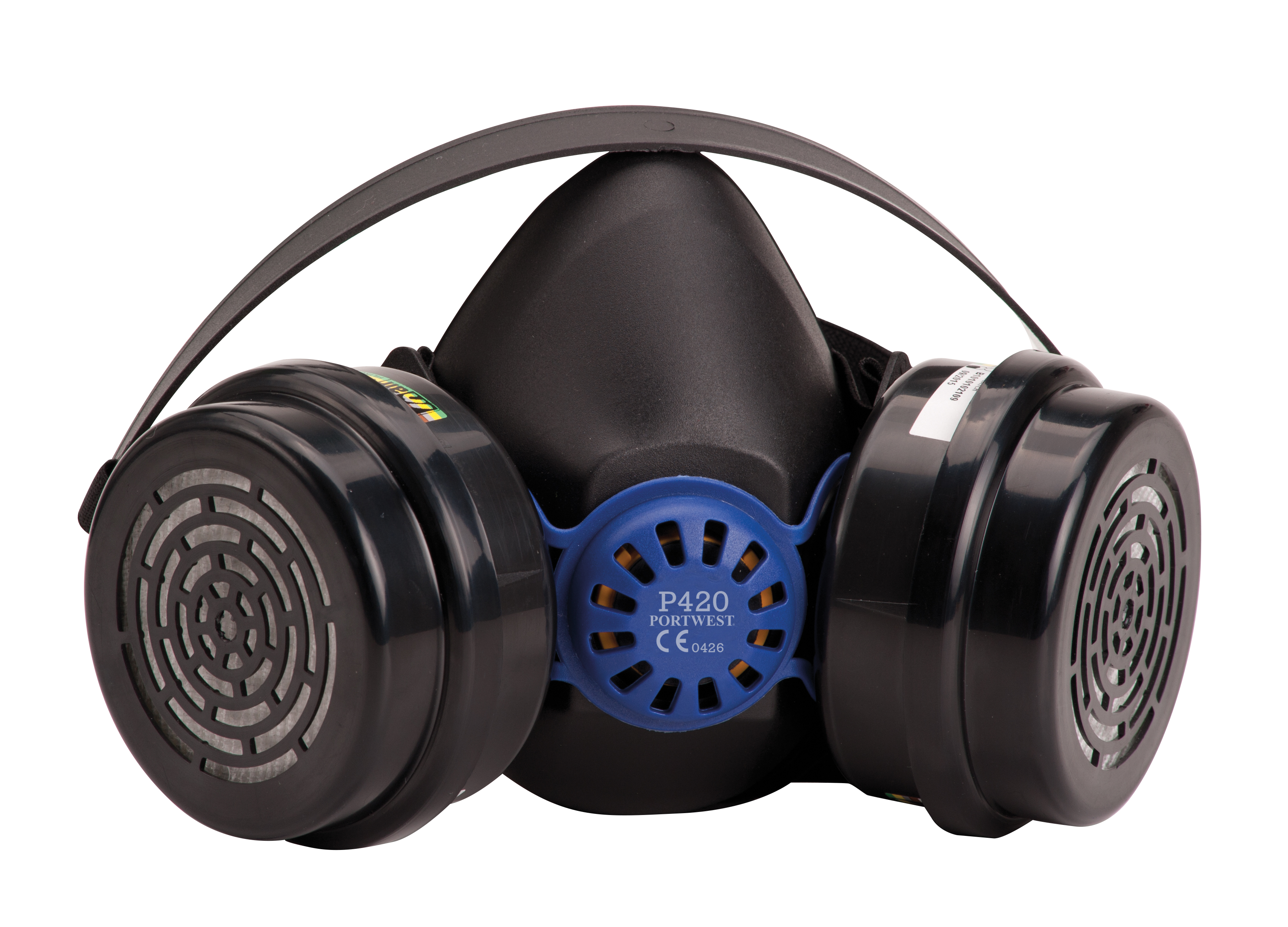 P420 Portwest Vancouver Twin Filter Rubber Half Mask Respirator