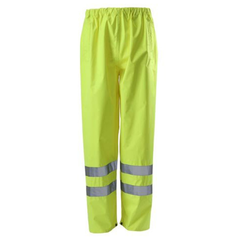 Small Yellow Hi-Vis Trousers BSEN471 Class1