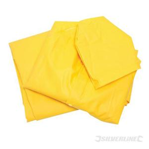 M Yellow Waterproof Jacket & Trousers Suit