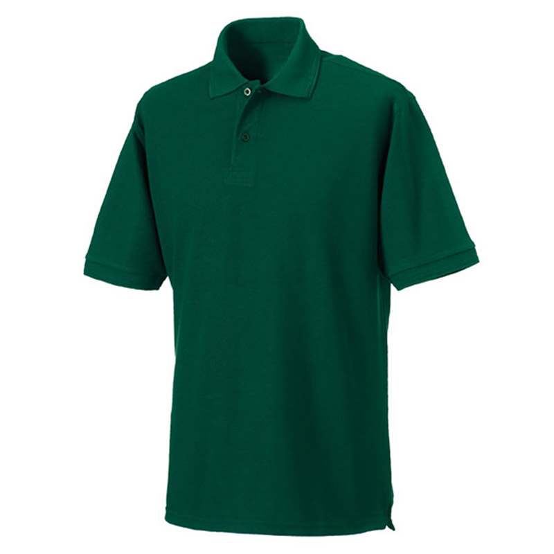 M Bottle Green Classic Polo Shirts