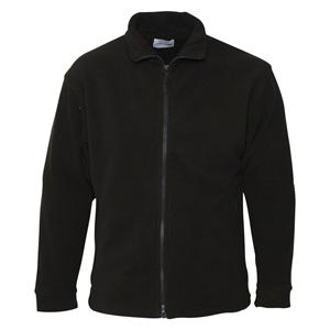 Small Black Premium Reversible Fleece Jacket