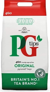 PG Tips One Cup Pyramid Tea Bags (Pack of 460)