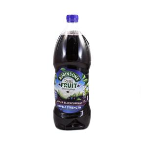 Robinsons Double Concentrate Apple & Blackcurrant Cordial Squash 1.75l