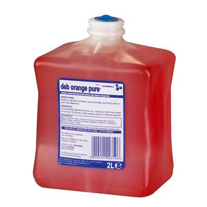 2 Litre Deb Cleanse Orange Pure Light Duty - Deb2000 (DOP200L)
