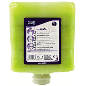 2 Litre Deb Cleanse Lime Wash Medium Duty - Deb2000 LIM2LT