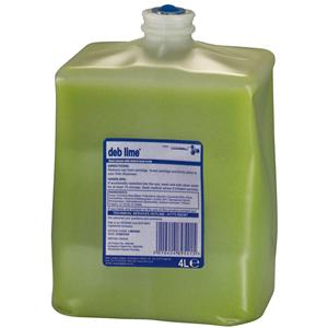4 Litre Deb Cleanse Lime WASH Medium Duty - Deb4000 LIM4LTR