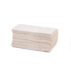 White Flushable C-Fold Hand Towels 2 Ply - (Case of 2400)