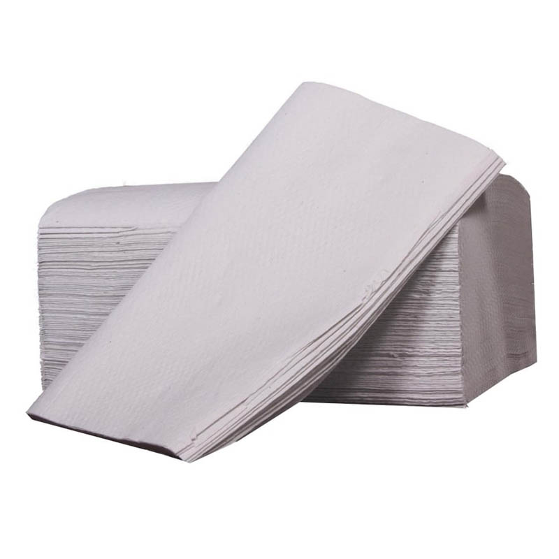 White V Fold / Interfold Hand Towels - 2 Ply (Case of 3000)
