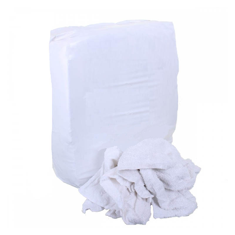 10kg White Only Cloth Rags – Cut Up T Shirts