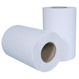 GL12 White 1 Ply Mini Centre Feed Roll