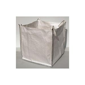 85x85x85cm FIBC Heavy Duty Polypropelene Bulk Builders Bags with Flat Base and 4 Loops - 1 Tonne Loading