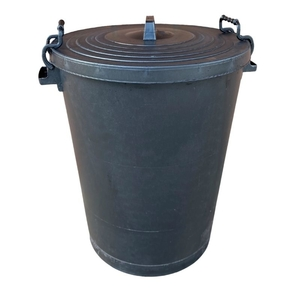 94 Litre TUFFBIN Black Heavy Duty Dustbin (Lid separate Z113-013)