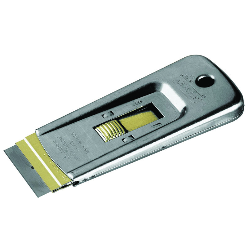 38.1mm Wide 95mm Long Razor Edge Scraper c/w 5 blades - 28-500