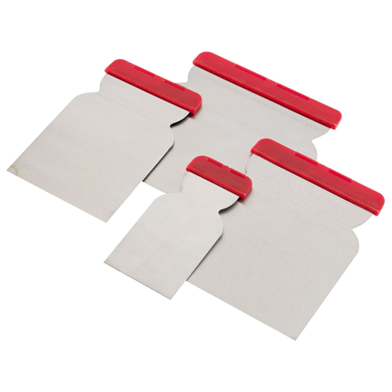 Euro Filling Knives 4 Pack - Sizes:50mm, 80mm, 100mm and 120mm