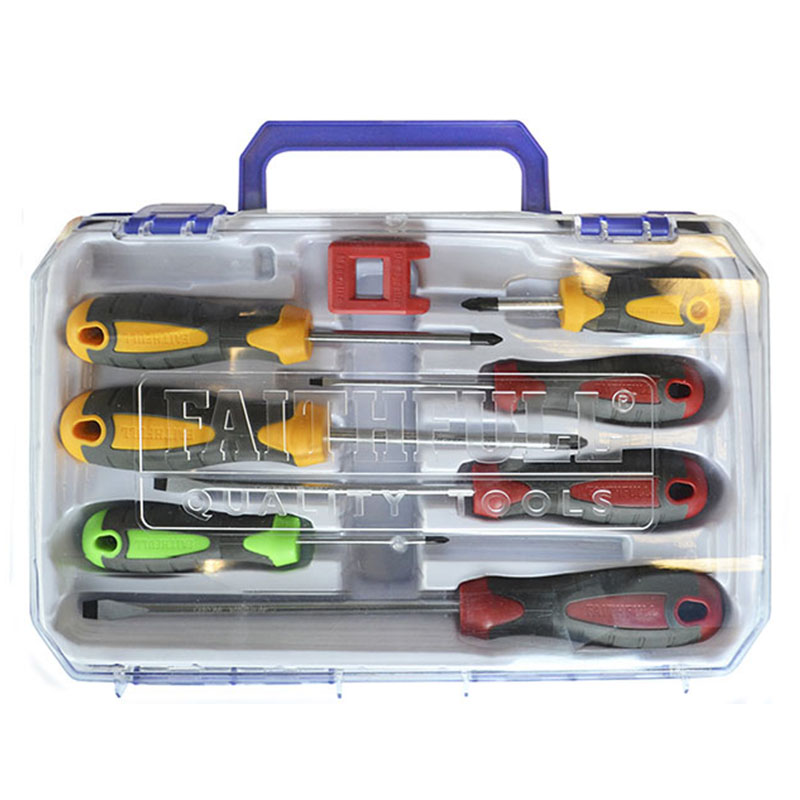 8 piece Soft Grip Screwdriver Set