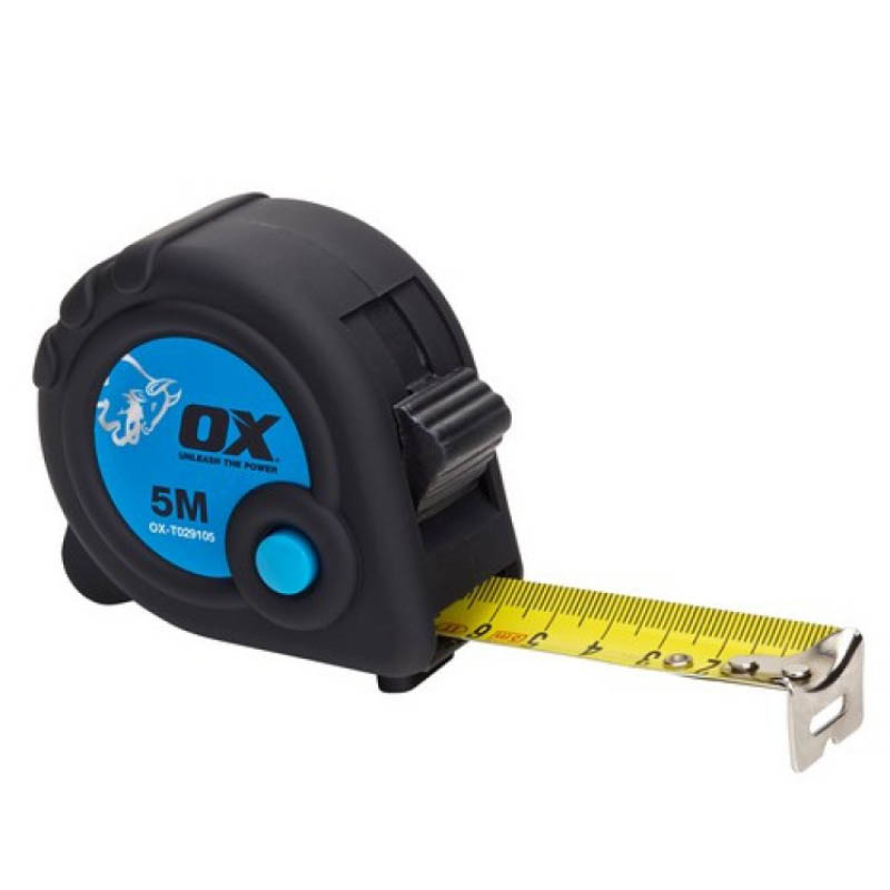 5m OX Metric Only Tape Measure