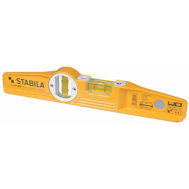 250mm Magnetic Scaffolders Type Spirit Level