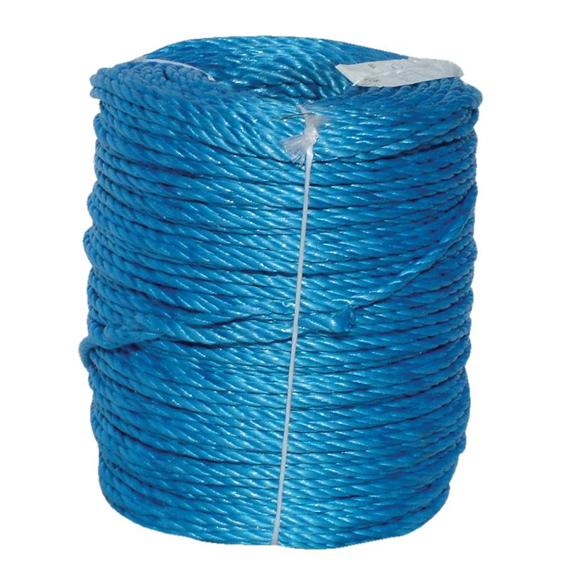 6mmx220m Blue Polypropylene Rope
