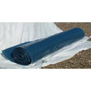 4mx25m 250mu/1000g Black Polythene DPM