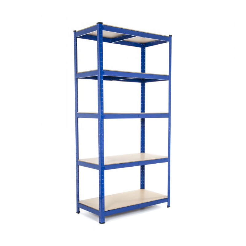 H1980xW1525xD610mm Galvanised Racking c/w 4 Chipboard ShelfLevels 400kg UDL