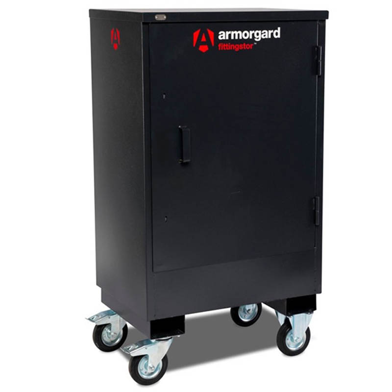 Armorgard FC2 Fittingstor, Mobile Fittings Cabinet - 800x585x1450 WxDxHmm