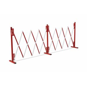Armorgard BAR1 Expandable Safety Barrier - Extended Dims = 4000x300x950 WxDxHmm