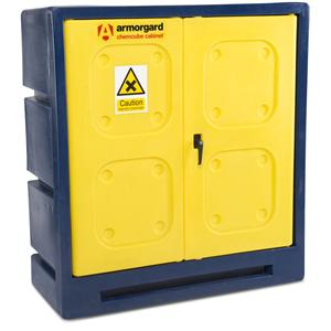 Armorgard CCC3 Durable plastic chemical cabinet - 1220x550x1310 WxDxHmm
