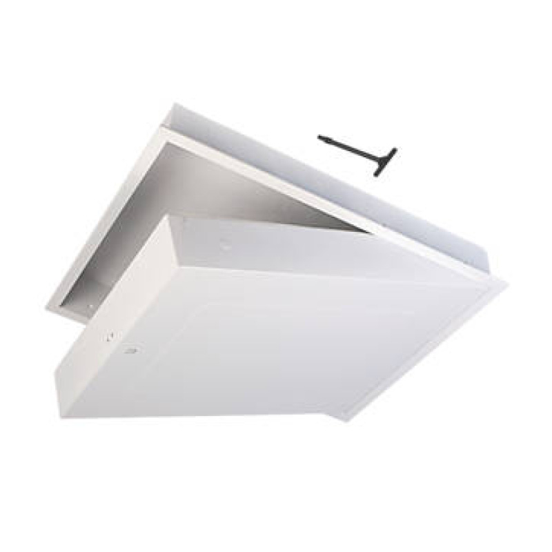 726x562mm Manthorpe 1hr Fire Rated Drop Down Loft Access Door Hatch GL280F