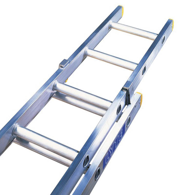 Double Extension Ladders - Trade EN131 - Closed 5.5m, Extended 10m, Weight 30kg