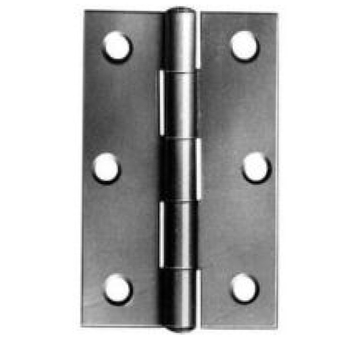 38mm 1838 Steel Butt Hinges - BZP