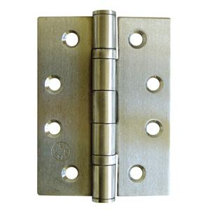 75x67x2.5mm Satin Stainless Ball Bearing Butt Hinges - Grade 11 (Boxed in Pairs, Sold per hinge)
