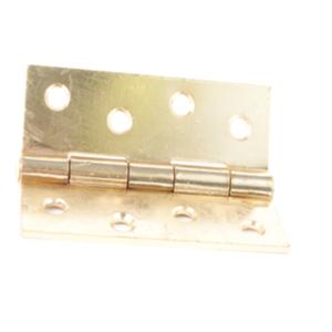 38x22mm Solid Drawn Brass Butt Hinges
