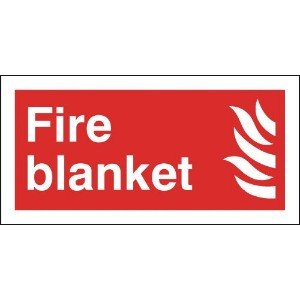 150x300mm Fire Blanket - Self Extinguishing