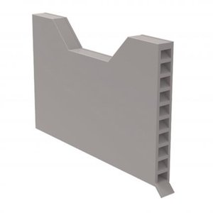 GREY Full Perp Cavity Wall Weep Vents