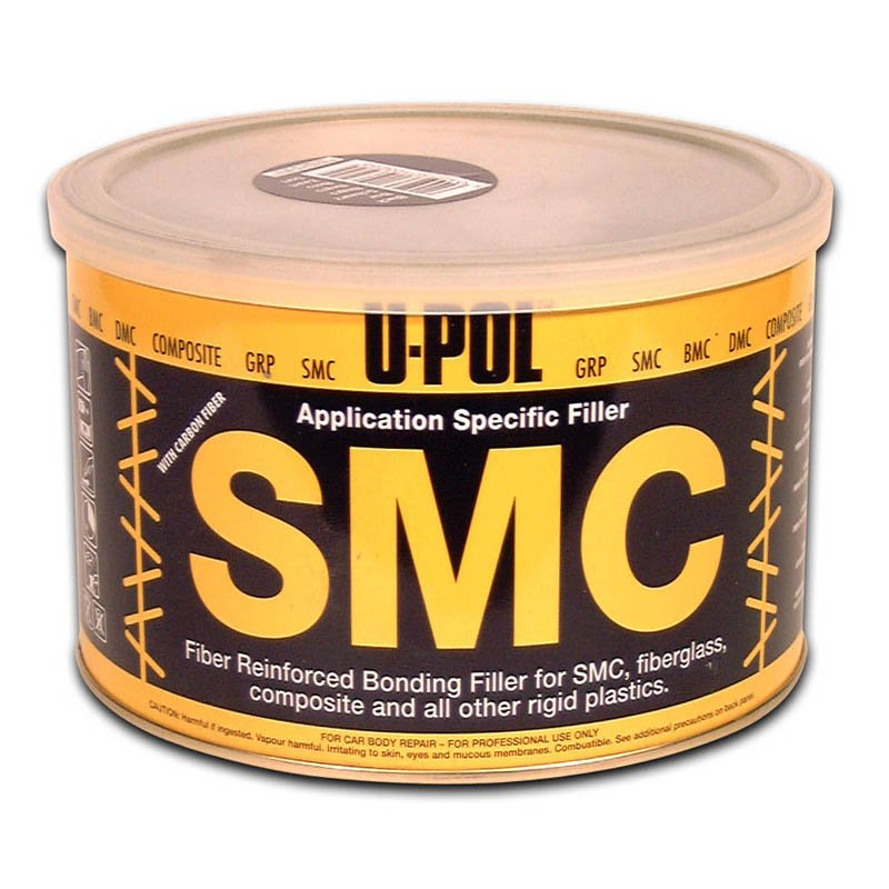 1.1 Litre White U-POL SMC™: Application Specific High Adhesion Easy Sand Fibre Filler