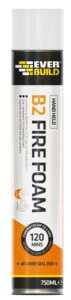 750ml FRF/AB2 Fire Rated Exp Foam Aerosol - B2 Grade