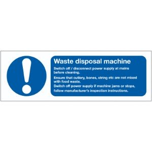 100x200mm Waste Disposal Machine - Rigid