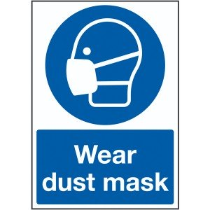 210x148mm Wear Dust Mask - Rigid
