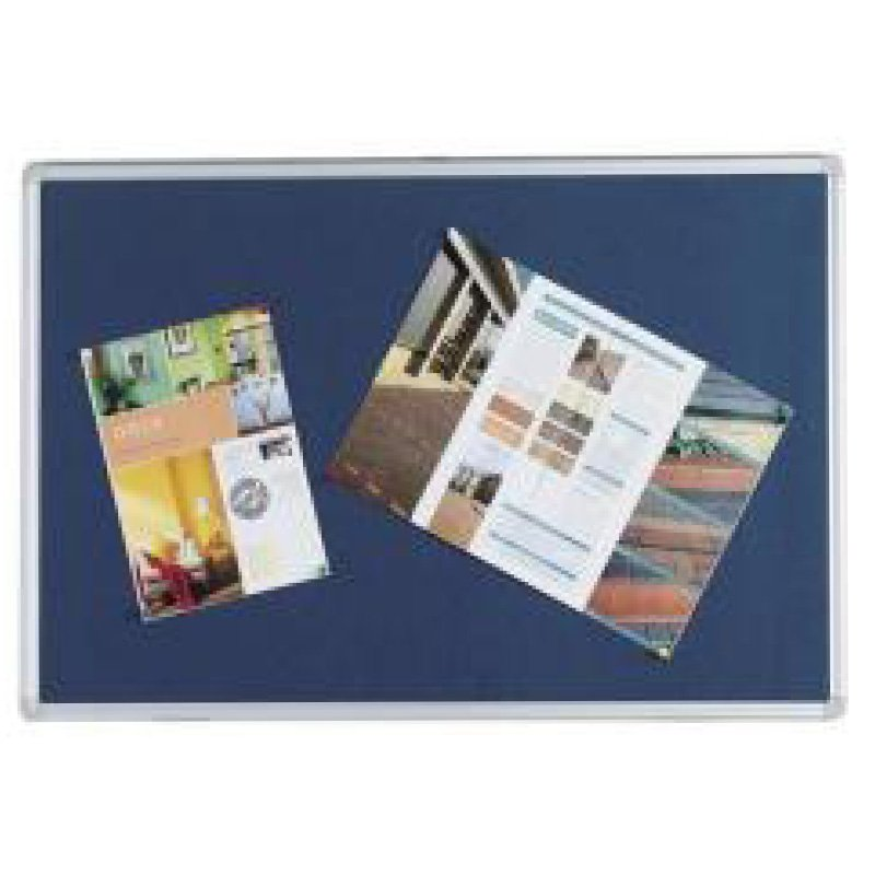 1200x900mm Pin Board / Notice Board with Aluminium Frame