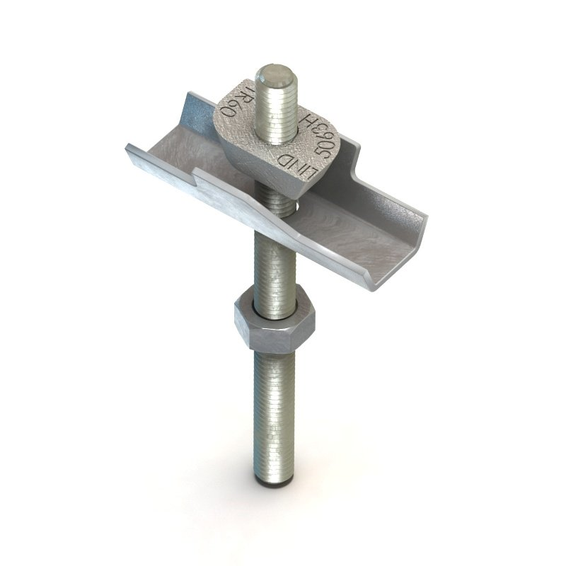 M6 TRW06 Lindapter TR60 Wedge Decking Fixings
