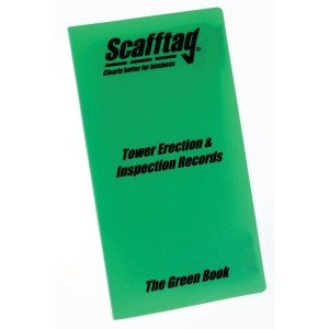 Scafford Erection & Inspection Book - Green